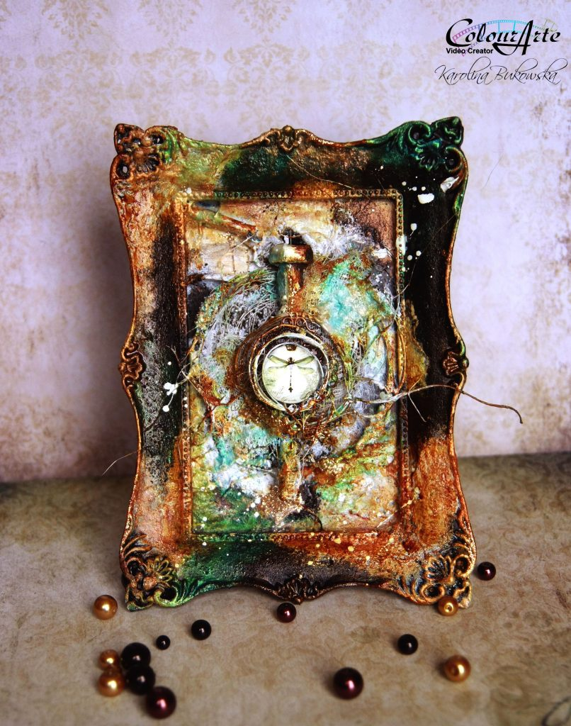 IMG_mixed media frame