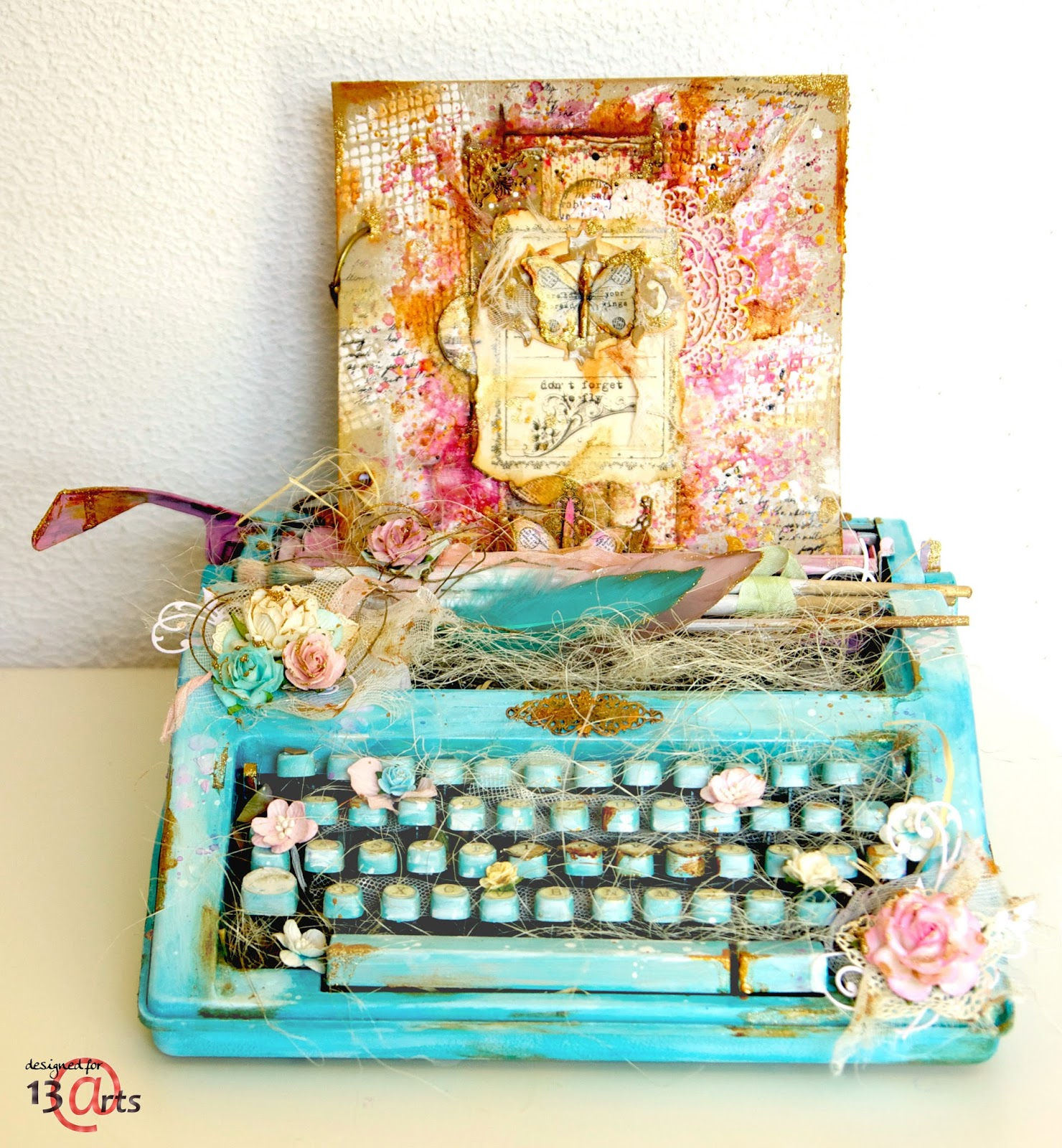 Altered  typewriter in my magical world