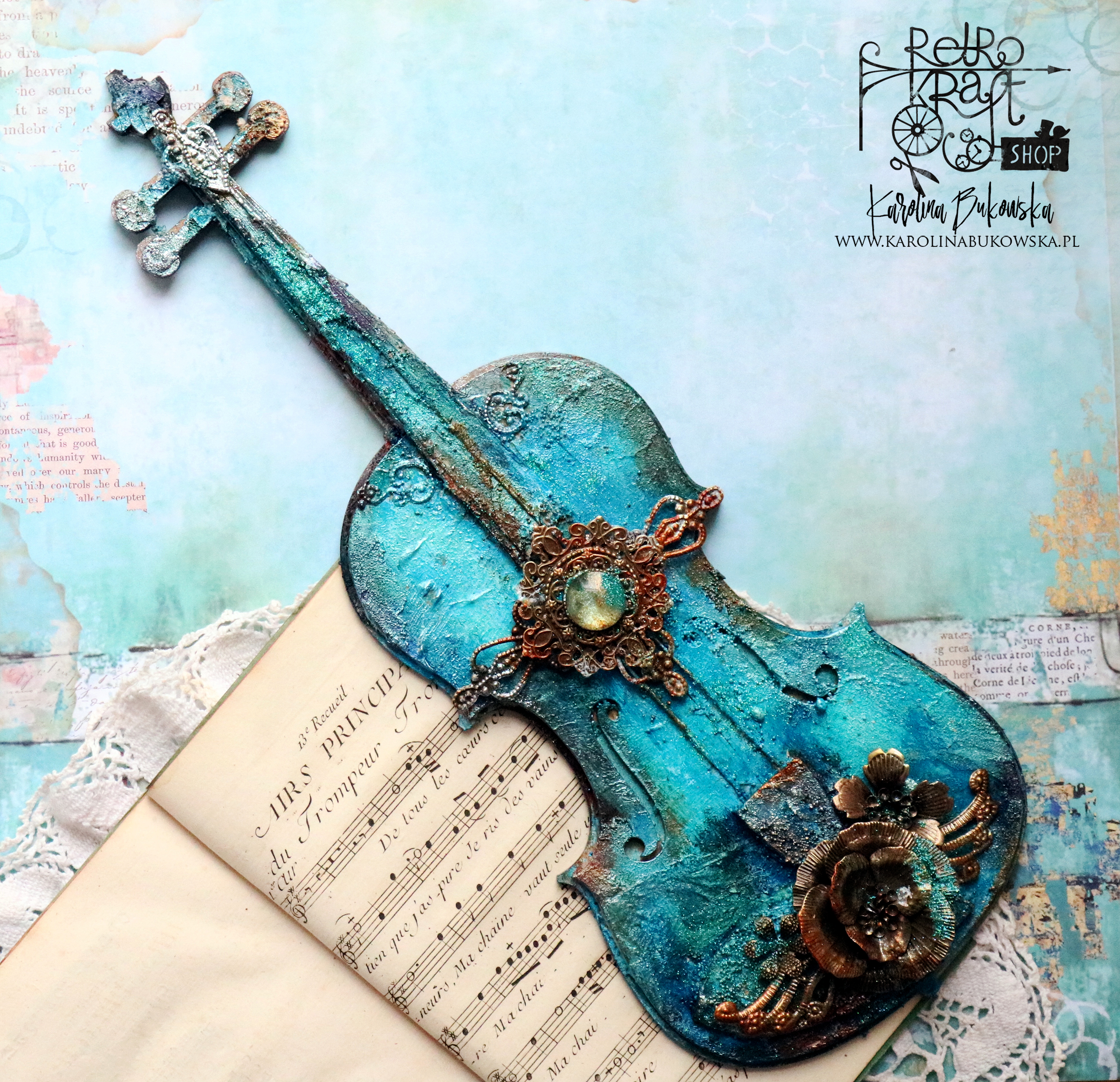 Alterowane skrzypce / Altered violin